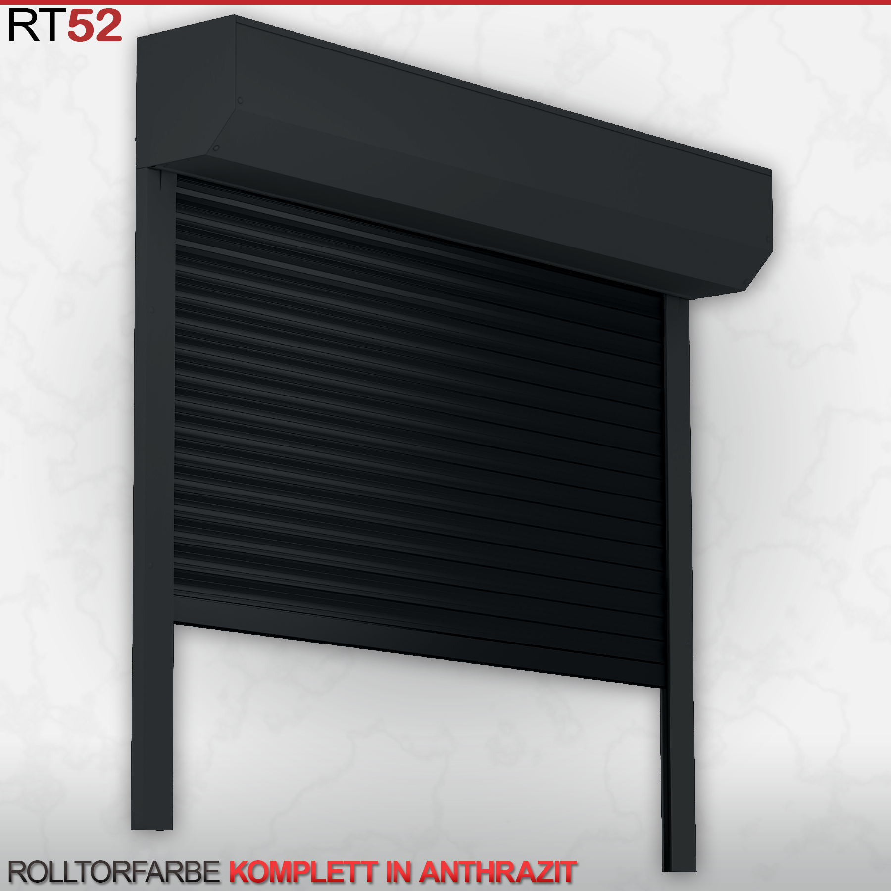 rolltor rolltore garagentor mit 52er alu panzer mit motor. Black Bedroom Furniture Sets. Home Design Ideas